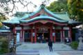 品川神社の社殿