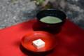 金閣寺にて御抹茶