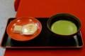 銀閣寺での御抹茶