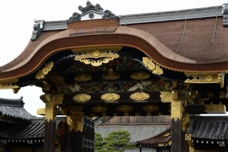 二条城二の丸唐門彫刻