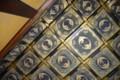 二条城黒書院の天井画(折上格天井)