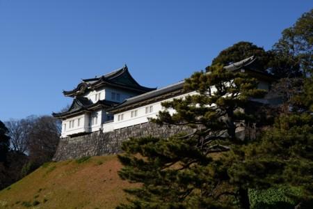 江戸城伏見櫓と同多門櫓