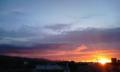 日没地点から手稲山への方向