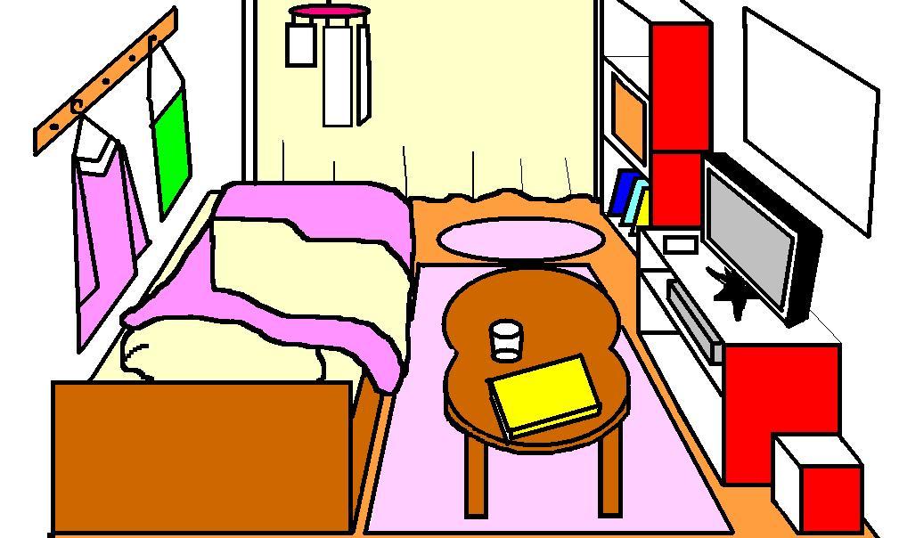 春I新生活のスタートですね ひとり暮らし息子の部屋