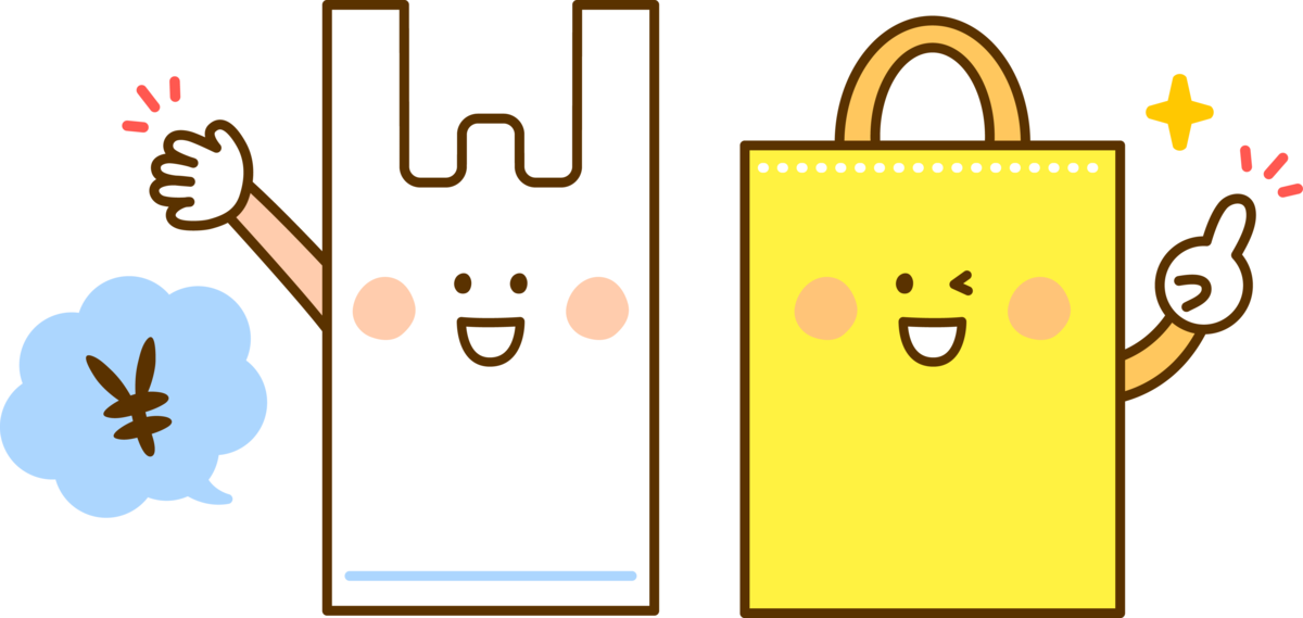 レジ袋有料の義務化 マーナのシュパット