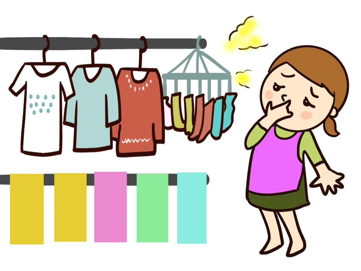 梅雨時のタオルや台ふきんの臭い対策に ダイソー&ニトリ