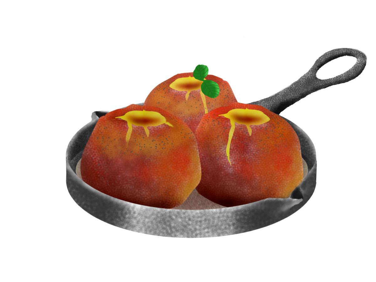 下ごしらえは5分 ほっこり美味しい丸ごと焼きりんご