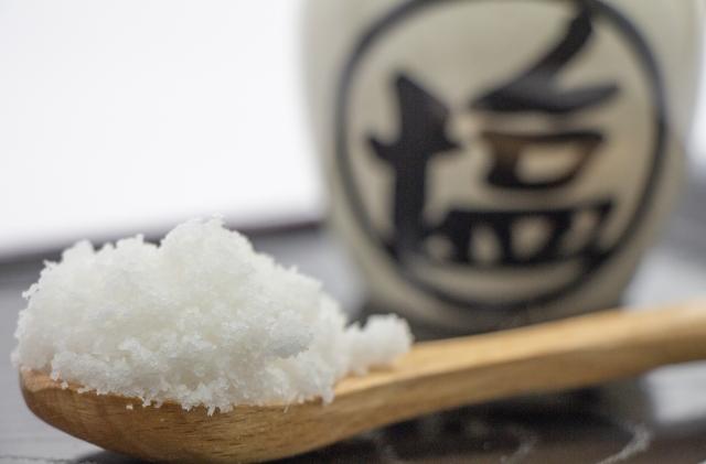 こだわりの塩選び。塩の選び方で美味しさが格段にアップする。