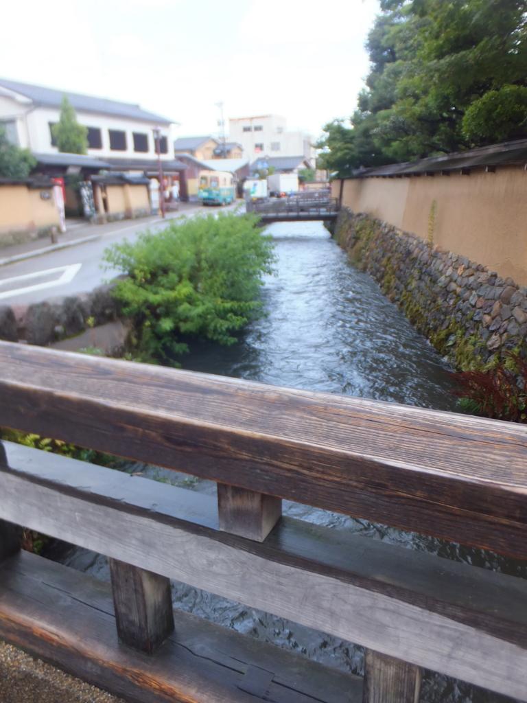 長町武家屋敷跡の川