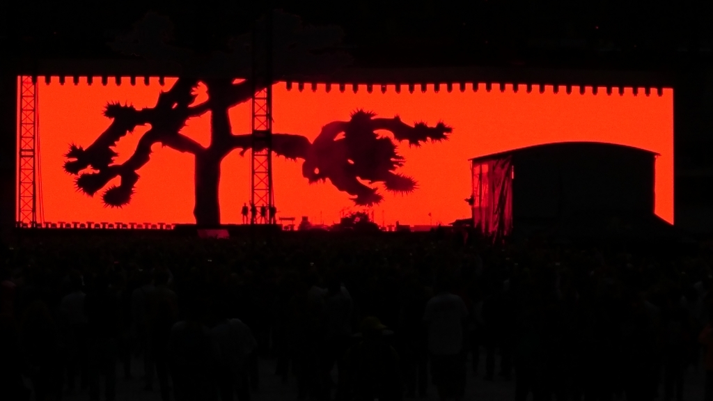 U2 ヨシュアツリーツアーライブ