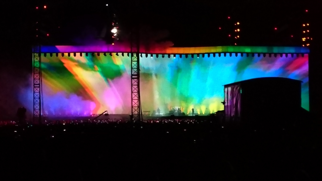 U2 ヨシュアツリーツアーライブ2