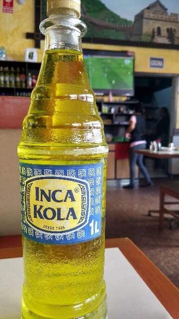 インカコーラ黄色
