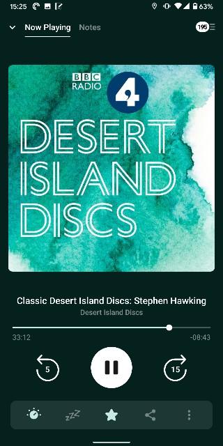 desert island discs無人島レコード BBC