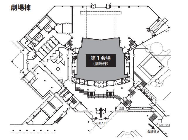 劇場棟マップ