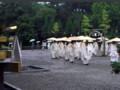 祈祷殿前 茅の輪くぐり【大神神社】