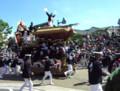 岸和田だんじり祭[祭][だんじり]こなから坂