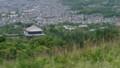 奈良:若草山 中腹から奈良市街を一望する