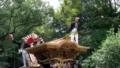 春木だんじり祭 宮入