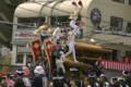 岸和田だんじり祭 飛翔する大工方