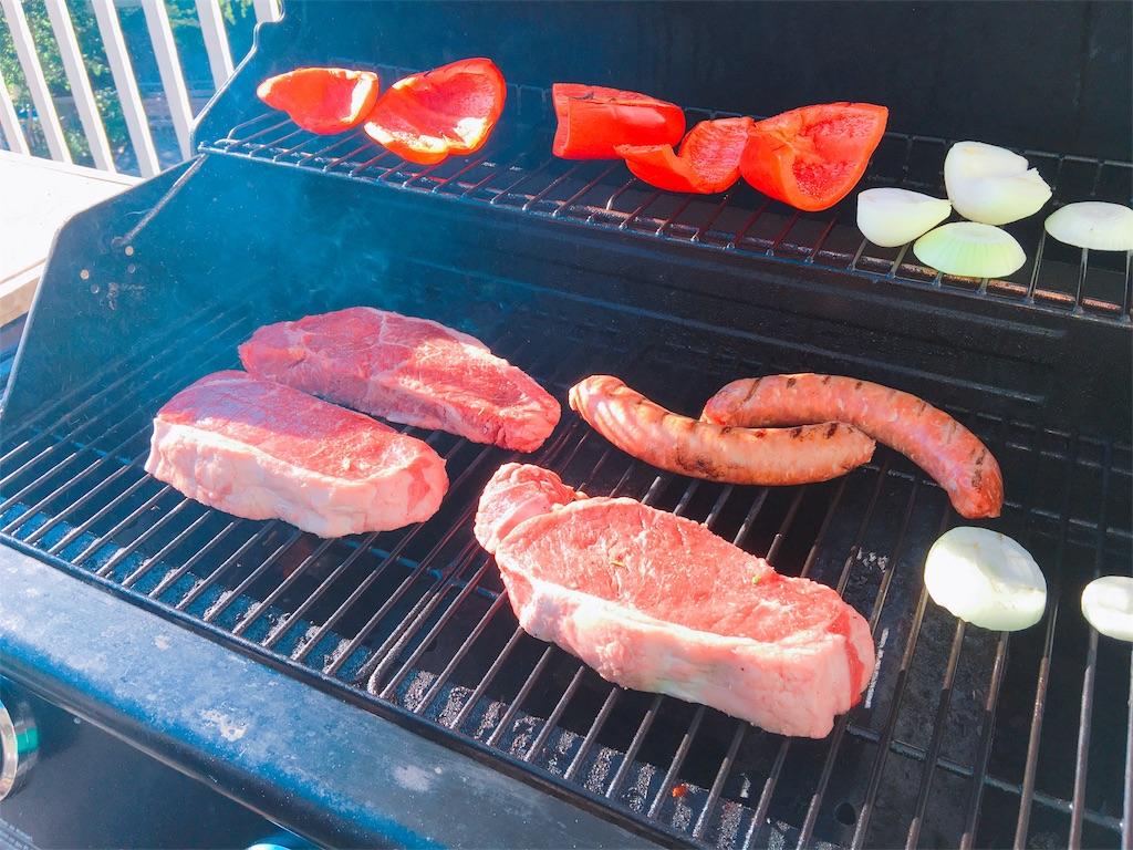 カナダコストコのお肉をバーベキュー