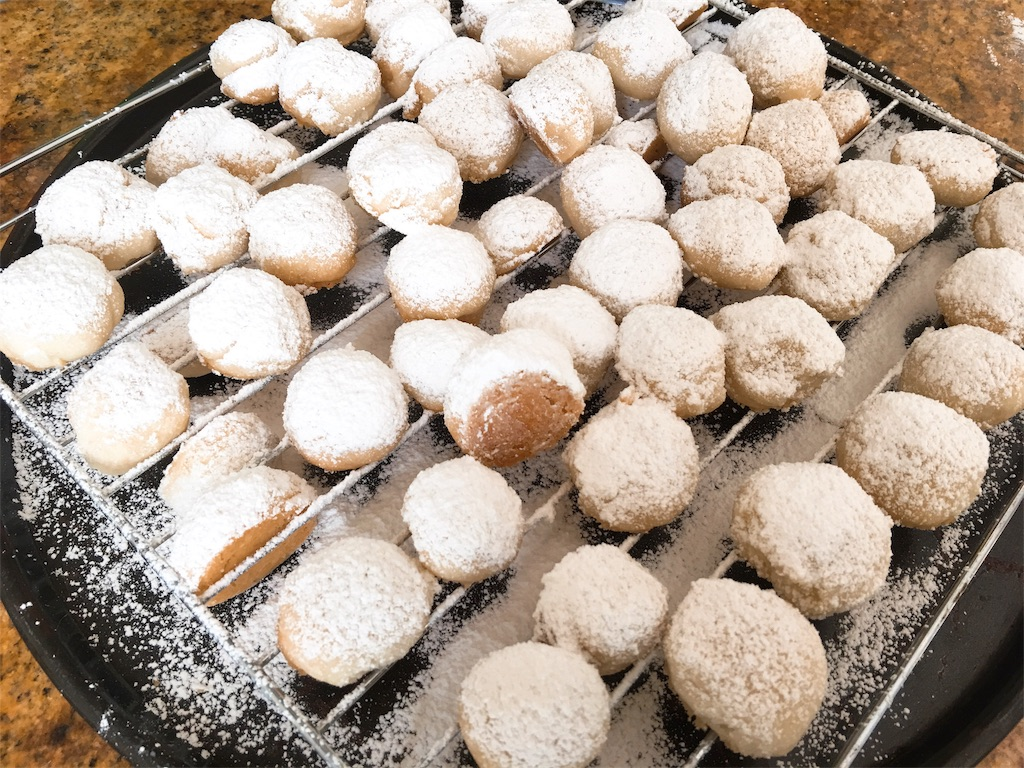 My mom's Snowball Cookies Recipe