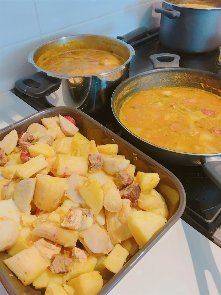 ドミニカ共和国の郷土料理SANCOCHO(サンコチョ)の作り方