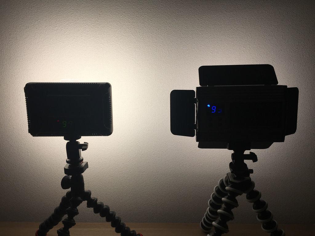 UTEBIT 26W ビデオライト 264チップLED PT-F260B