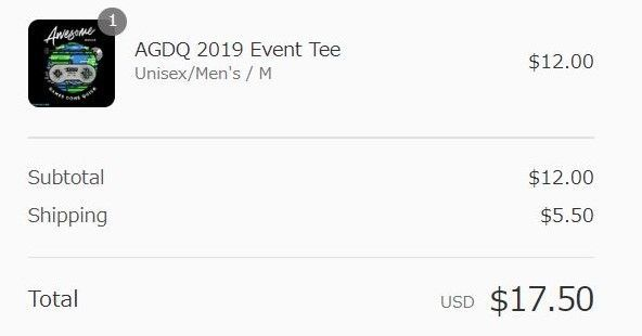 AGDQ2019