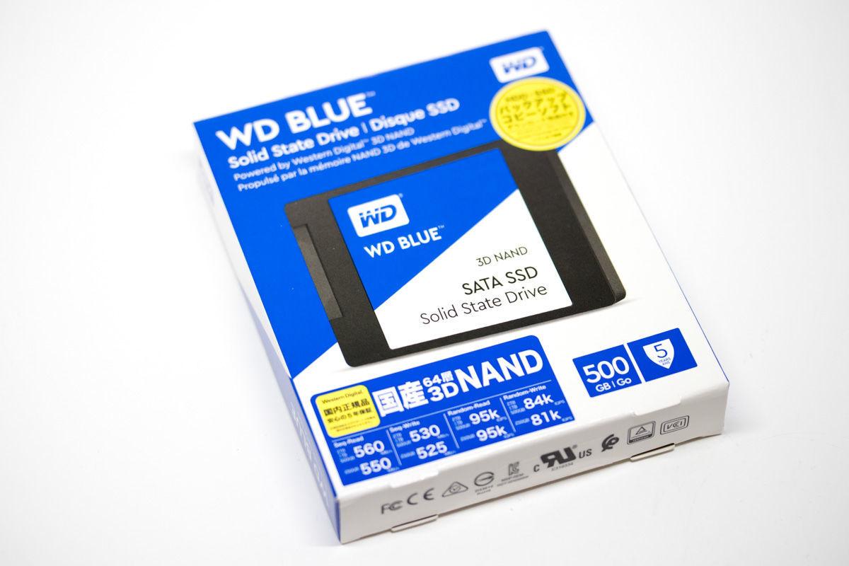 Western Digital BLUE 500GB SSD 3D NAND