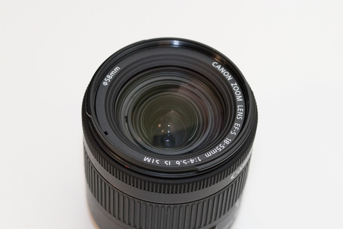 Canon EF-S18-55mm F4-5.6 IS STM