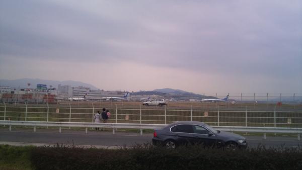 福岡空港近辺