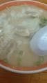 [twitter] お昼はワンタン麺