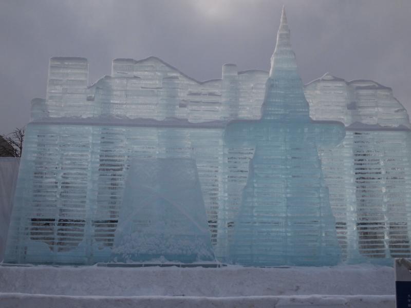 札幌雪まつり 大氷像 大田広域市市街