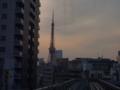 ゆりかもめからの東京タワー