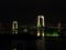 レインボーブリッジと東京タワー@デックス東京付近