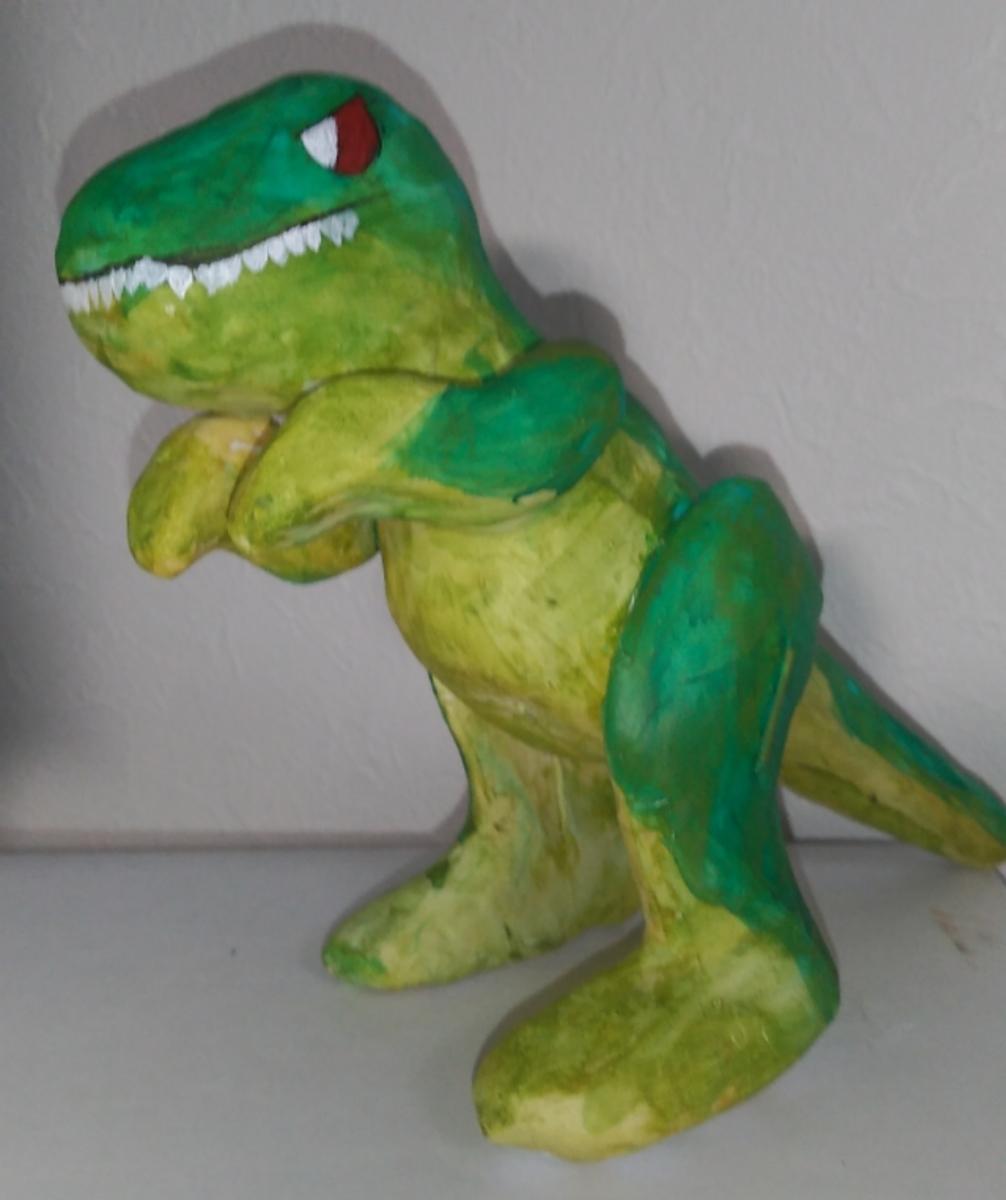 張り子のティラノサウルス