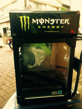 冷蔵庫 モンスター エナジー