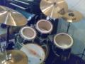 [music] 2010/9/18 デコレーションLive@CafeBar IKKI ドラムセッティング