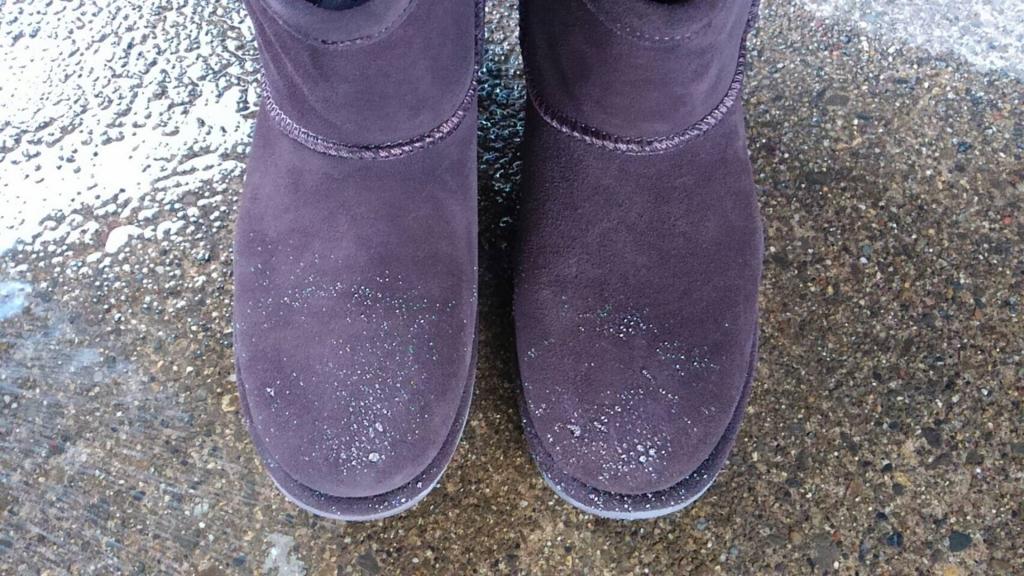 雨の中でEMUの防水ブーツを履いてみた