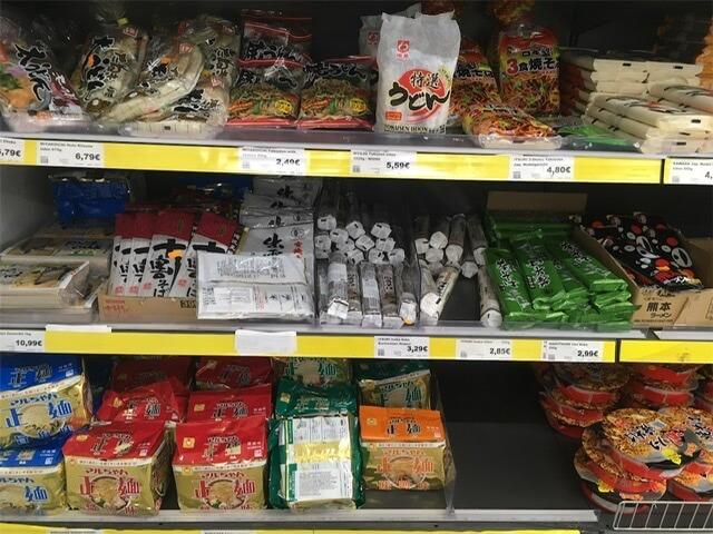 日本食材の代表的な乾麺