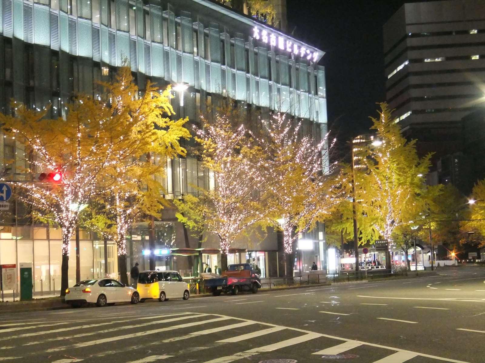 大名古屋ビルヂングのイルミネーション
