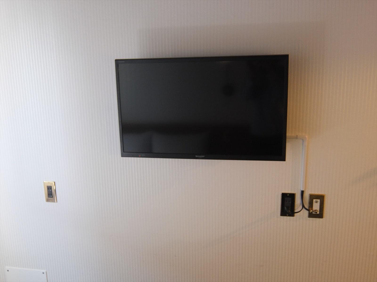 エスティネートホテルのテレビ