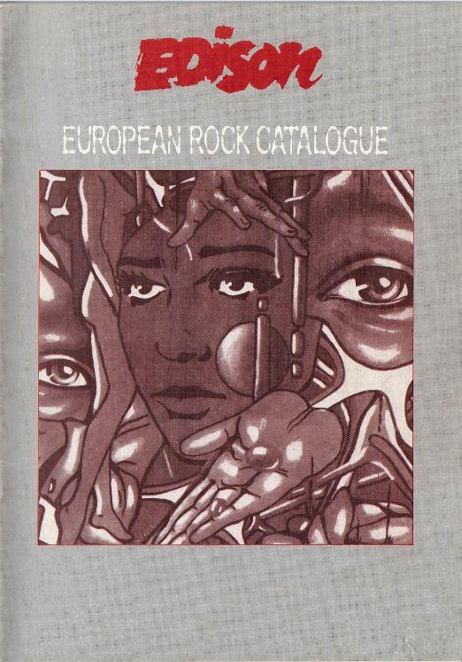 EDISON EUROPEAN ROCK CATALOGUE