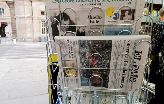 新聞広告の種類