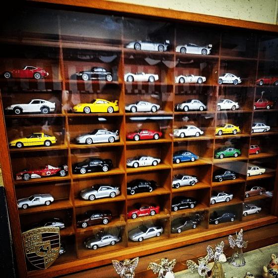 ポルシェのミニカーコレクション