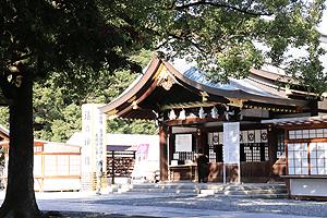 真清田神社神楽殿