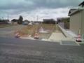 新規道路の工事中 #1
