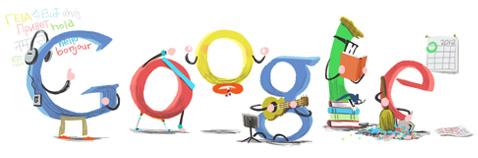 Google - 2012 New Year
