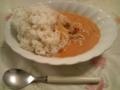JAL タイ風レッドカレー・辛口 実食