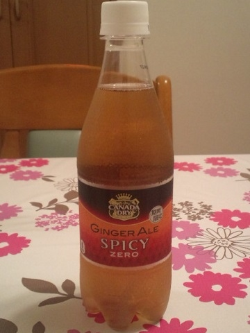 Canada Dry : Ginger Ale Spicy Zero #1
